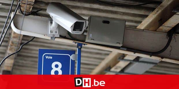 Caméra de surveillance - gare - Sécurail