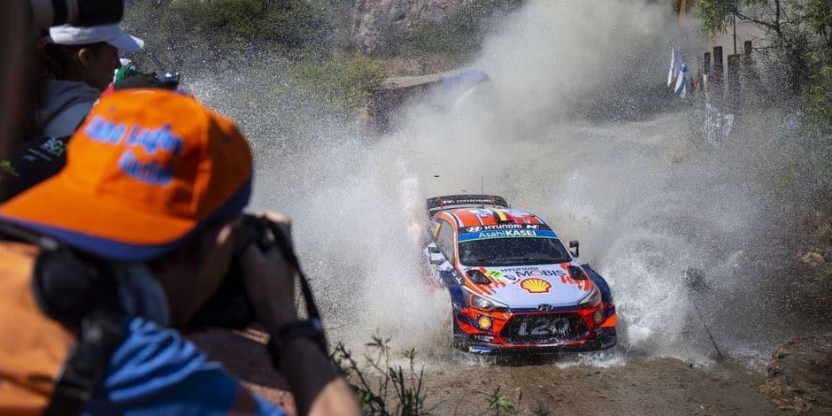 Rallye du Mexique: Ogier vers un 5e succès, Tanak passe Evans, Neuville toujours 4e
