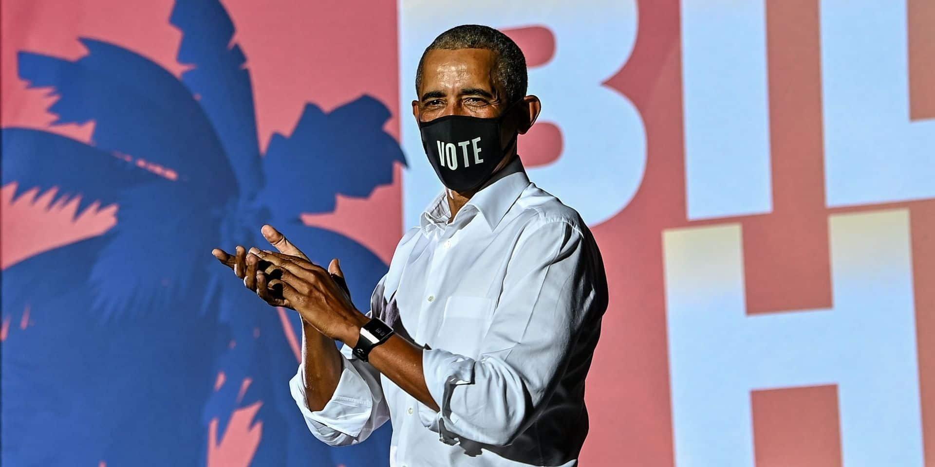 """Barack Obama déplore les théories du complot et la dégradation de la vérité aux USA: """"Il faudra plus d'une élection pour renverser cela"""""""