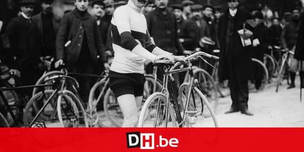 René Pottier, french racing cyclist. Tour de France 1905. Ref : RV-35000 ( 4293-5 ) ©REPORTERS - Roger Viollet
