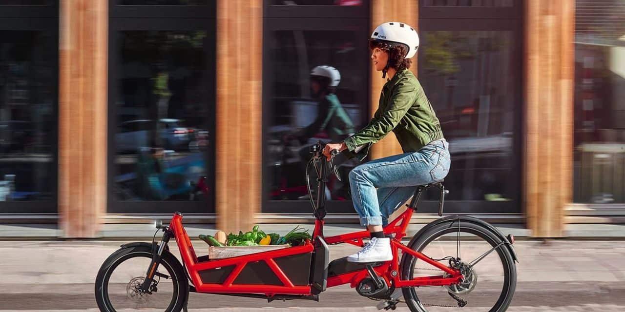 Herstal : une livraison en vélo cargo !