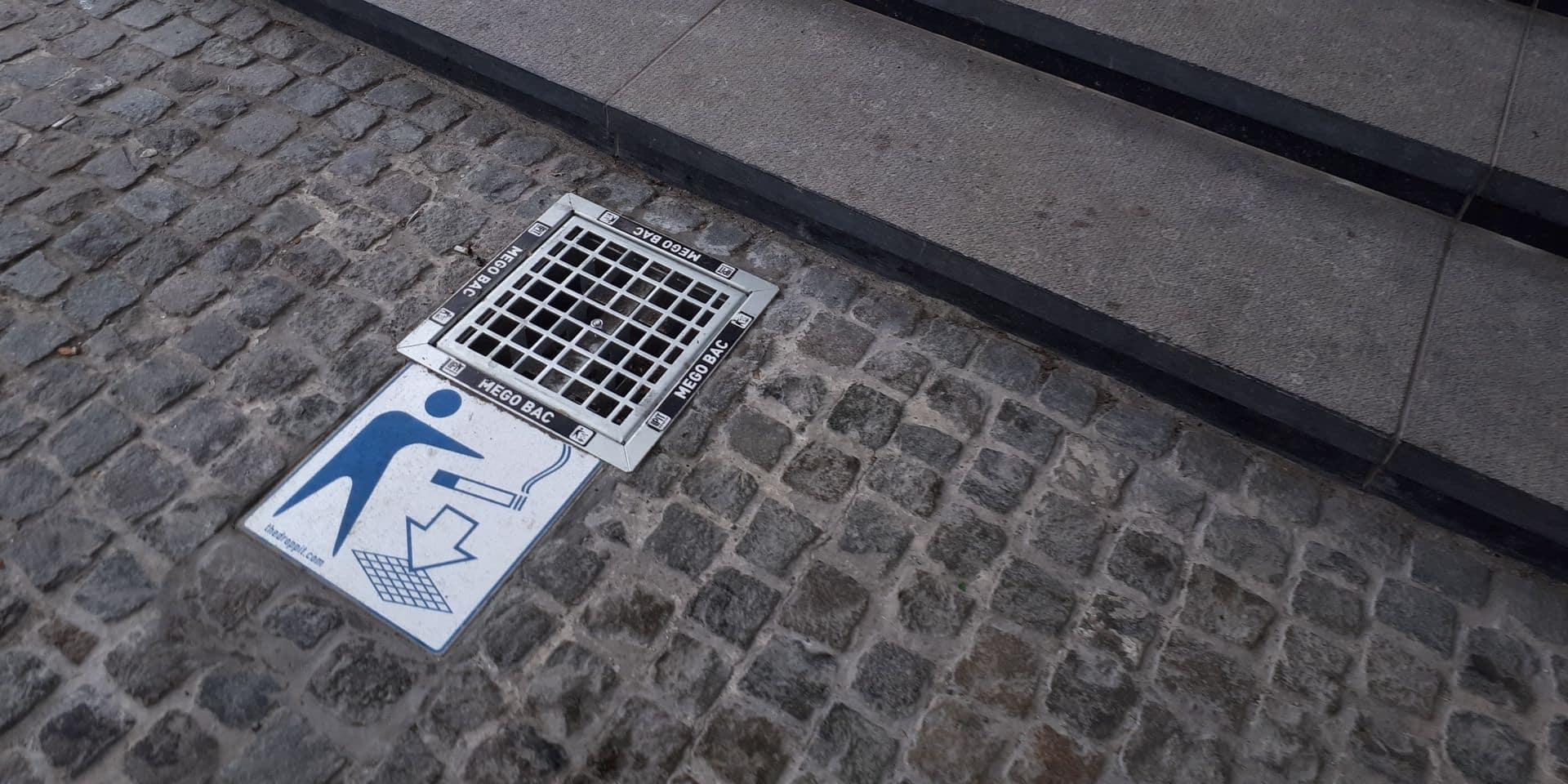 Les cendriers enterrés à Charleroi, la fausse bonne idée qui fait flop