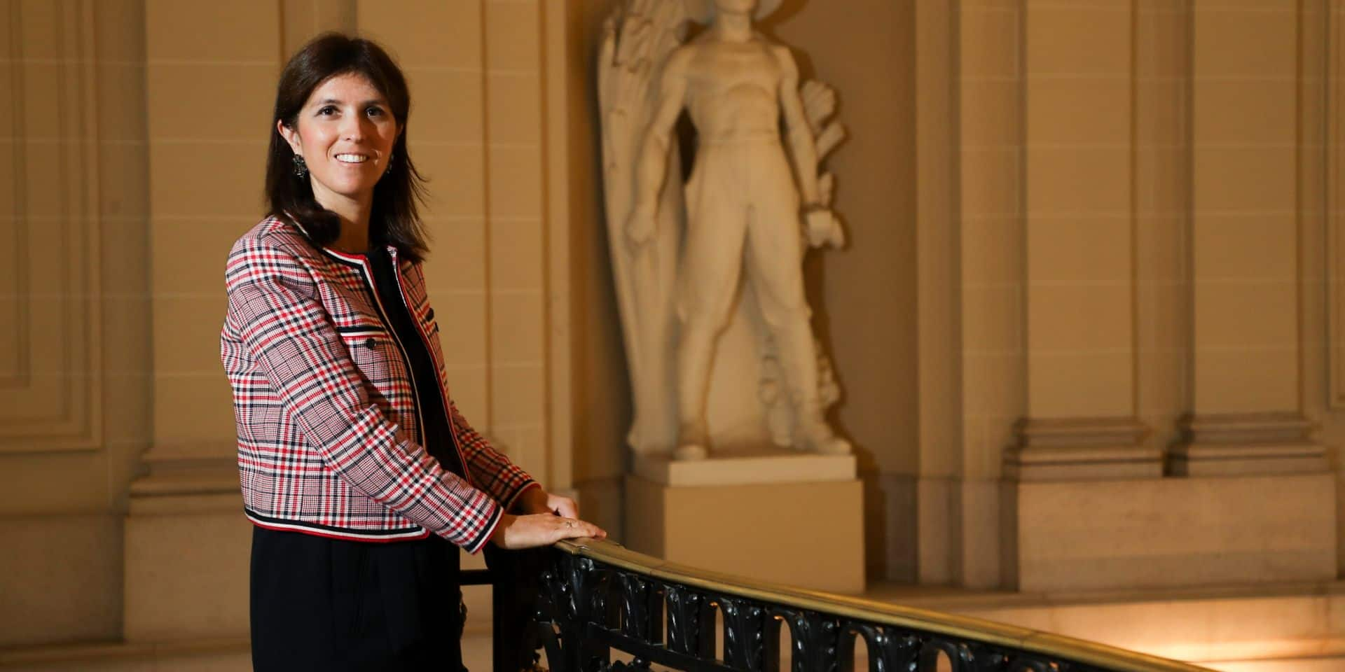 Alexia Bertrand probable candidate à la tête du MR bruxellois