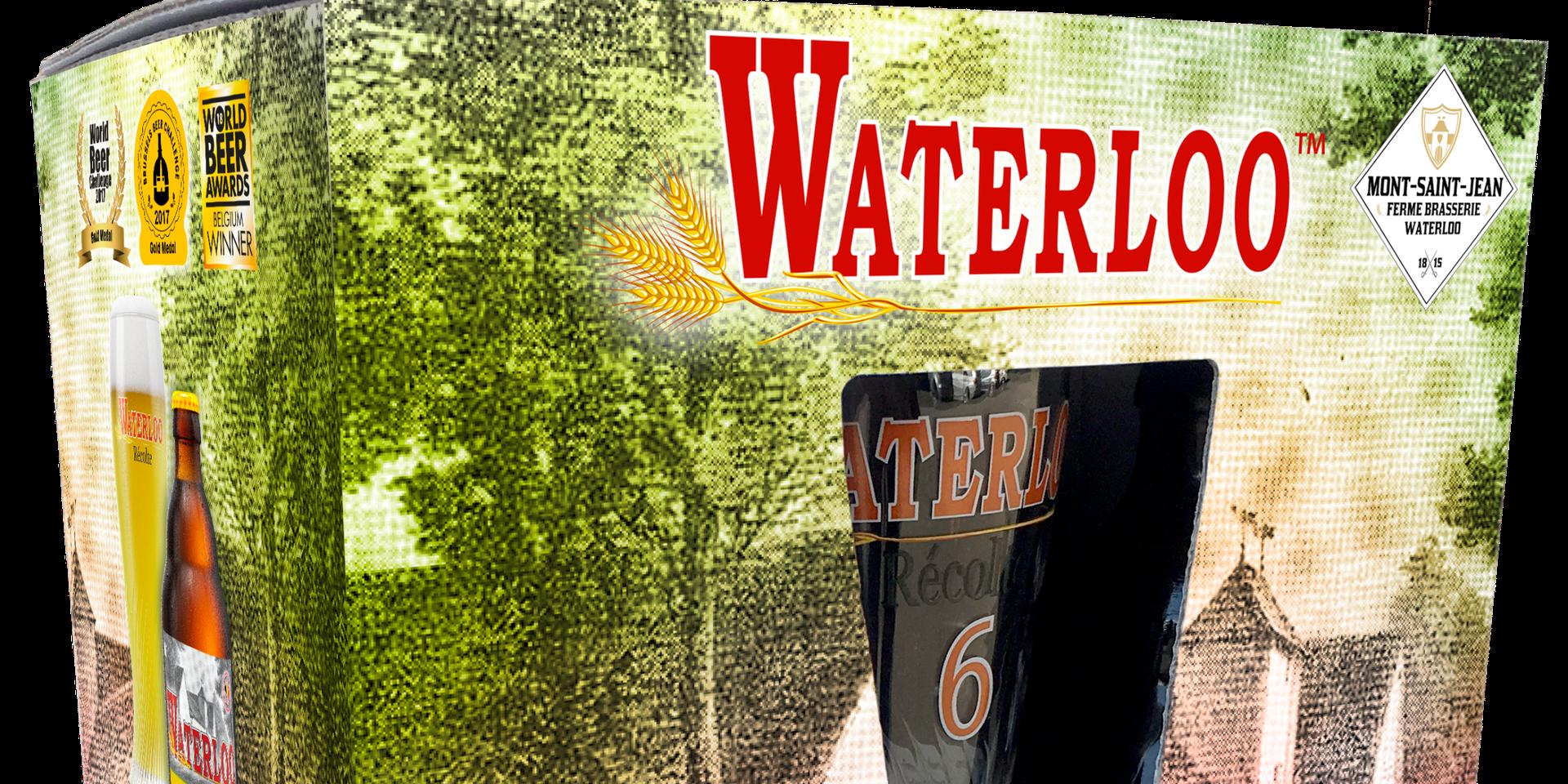 Concours : À gagner 25 packs de bière de Waterloo Récolte