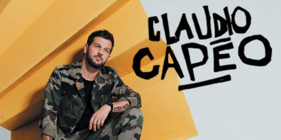 Concours réservé aux abonnés : La DH vous invite au concert de CLAUDIO CAPEO, le 10 novembre à Forest National
