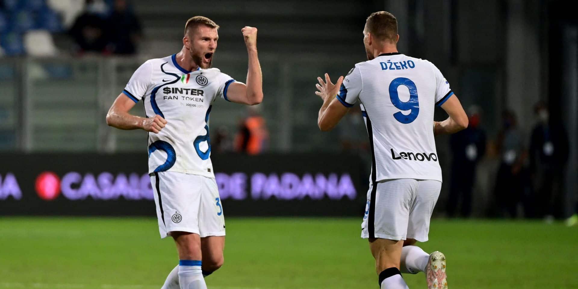 Serie A: Dzeko sauve l'Inter, la Juve confirme et s'offre le derby