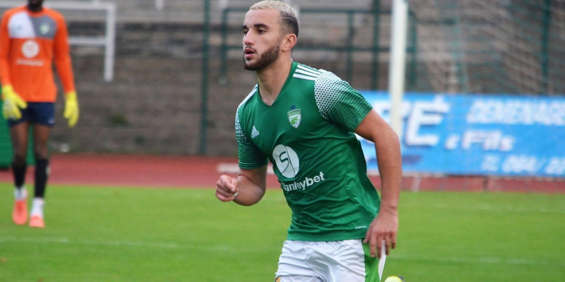 """Amine Zenadji, déjà 7 buts et 4 assists avec La Louvière: """"Je suis en pleine confiance"""""""