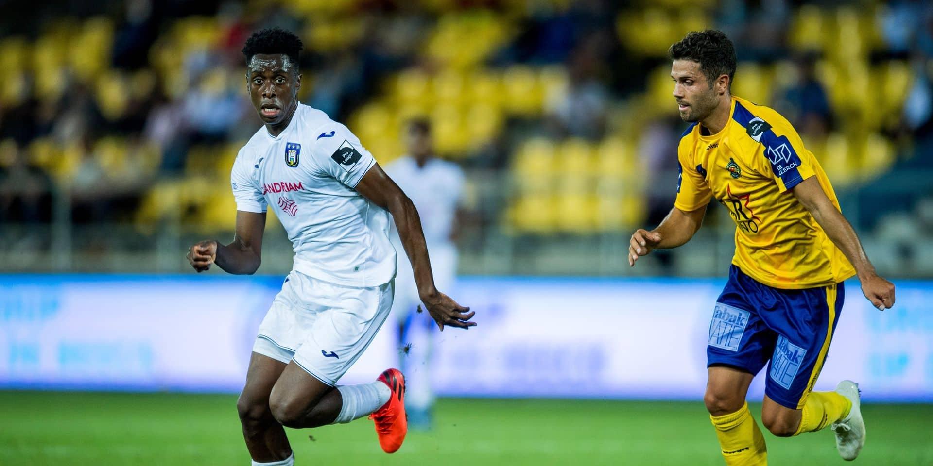 """Sambi Lokonga se confie avant le Topper: """"J'étais trop sûr de ma place"""""""