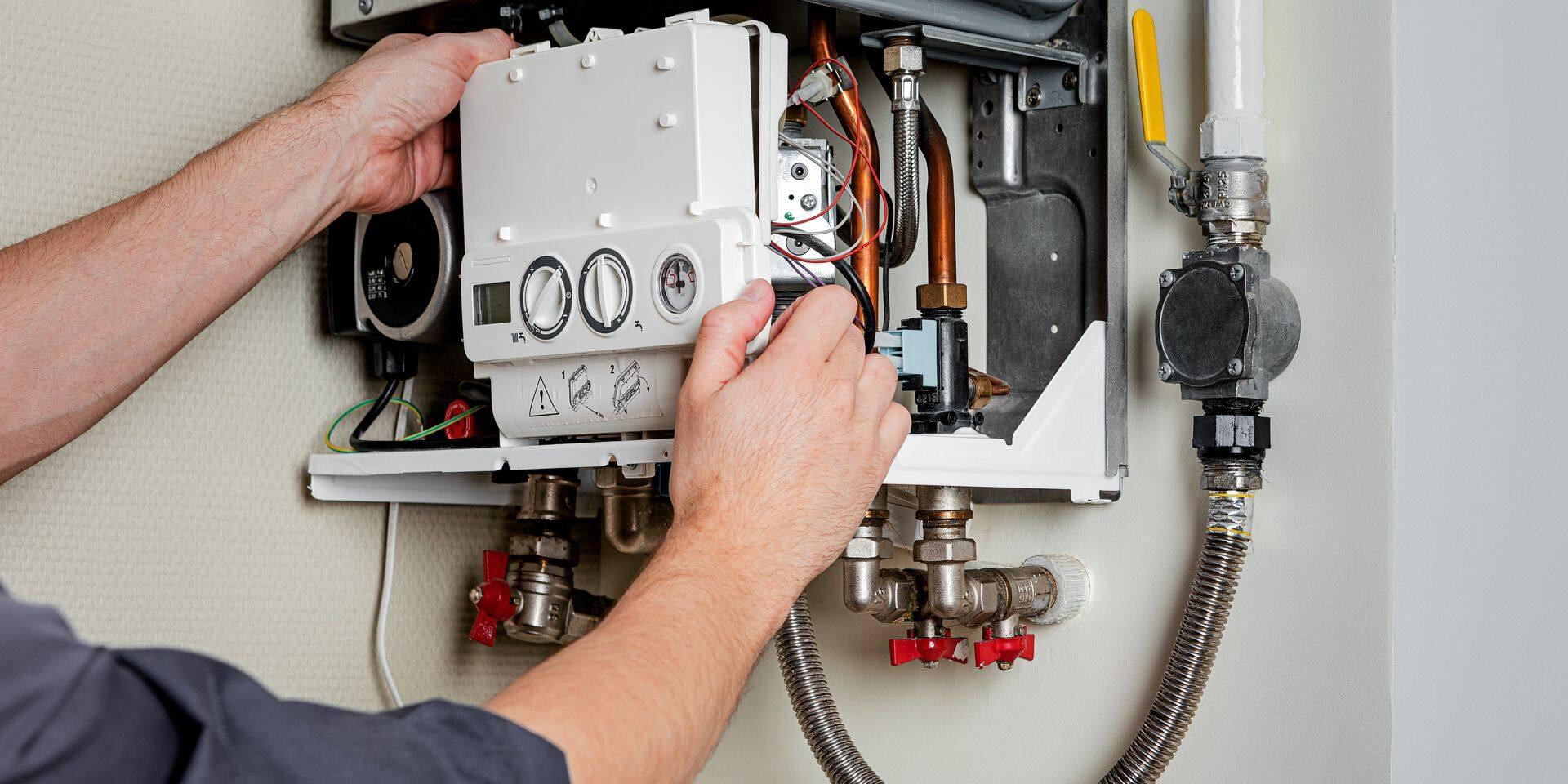Repair,Of,A,Gas,Boiler.