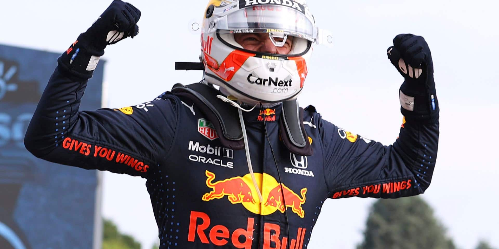 GP d'Emilie-Romagne: Verstappen se joue des Benz et de la météo