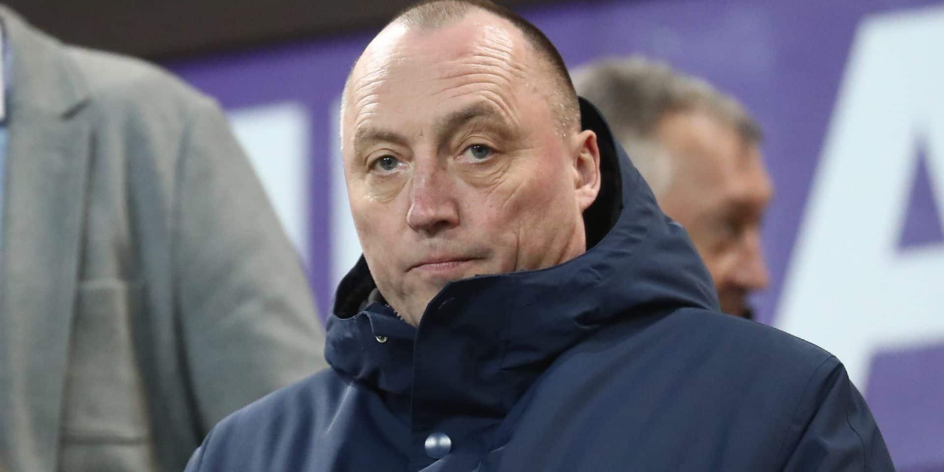 En devenant président d'Anderlecht, Vandenhaute réalise son rêve d'ado