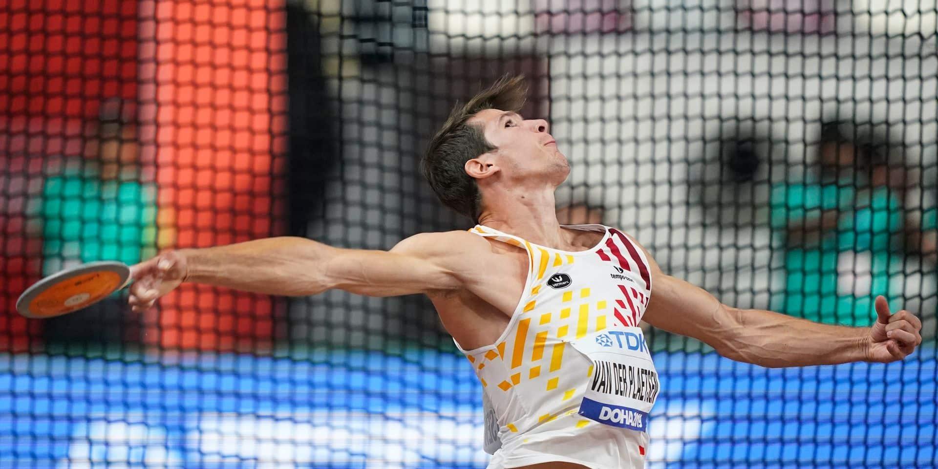 Mondiaux d'athlétisme: Thomas Van der Plaetsen termine 9e du décathlon qui sacre l'Allemand Niklas Kaul