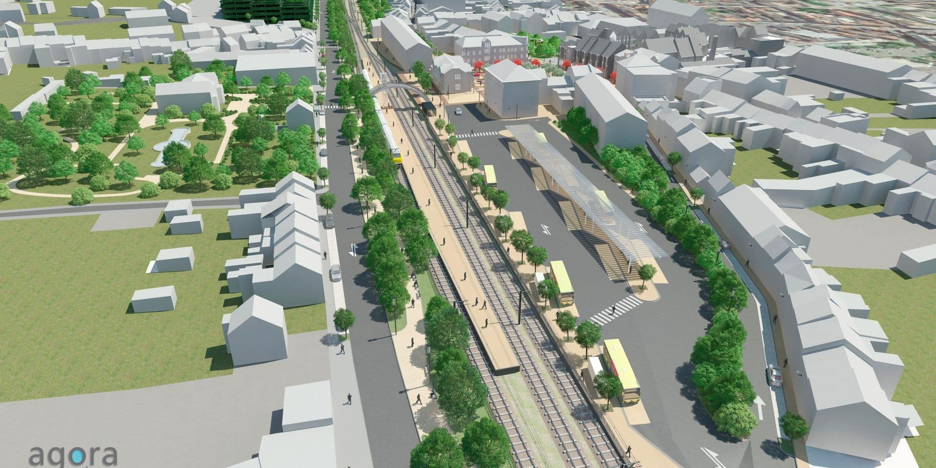 Feu vert pour la nouvelle gare des bus de Wavre, le chantier devrait débuter d'ici mars
