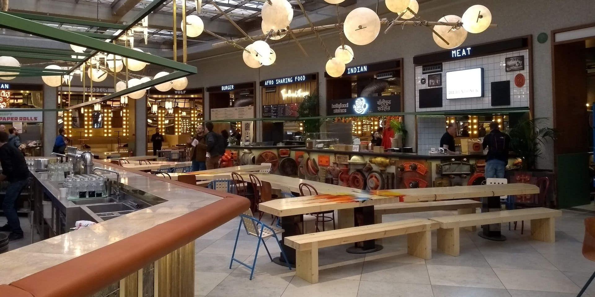 Wolf, un premier food market s'installe dans les rues de la capitale