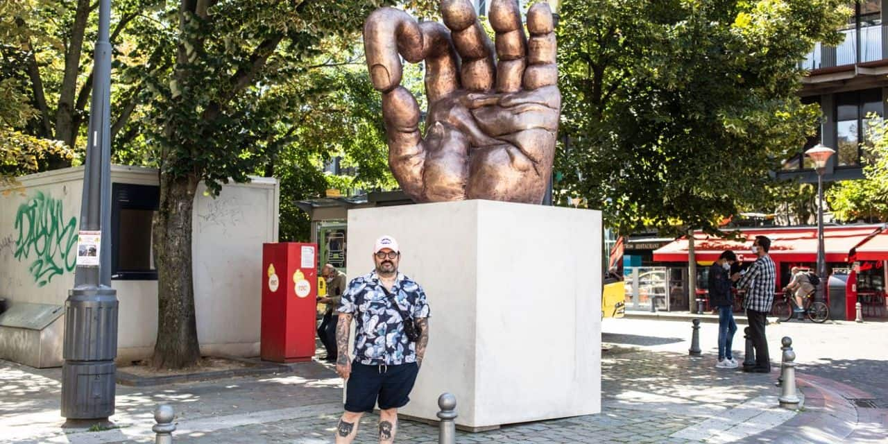 Liège : l'art contemporain investit l'hypercentre