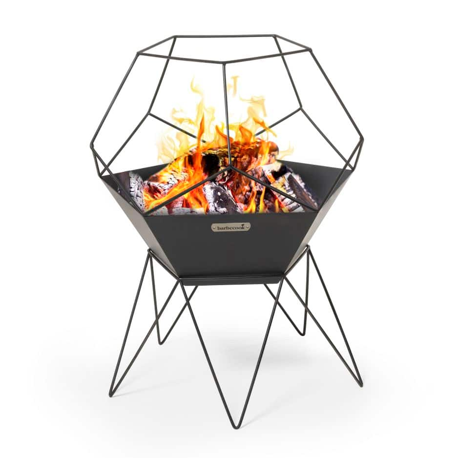 Idéal pour les soirées d'hiver... Brasero Barbecook, environ 100 €
