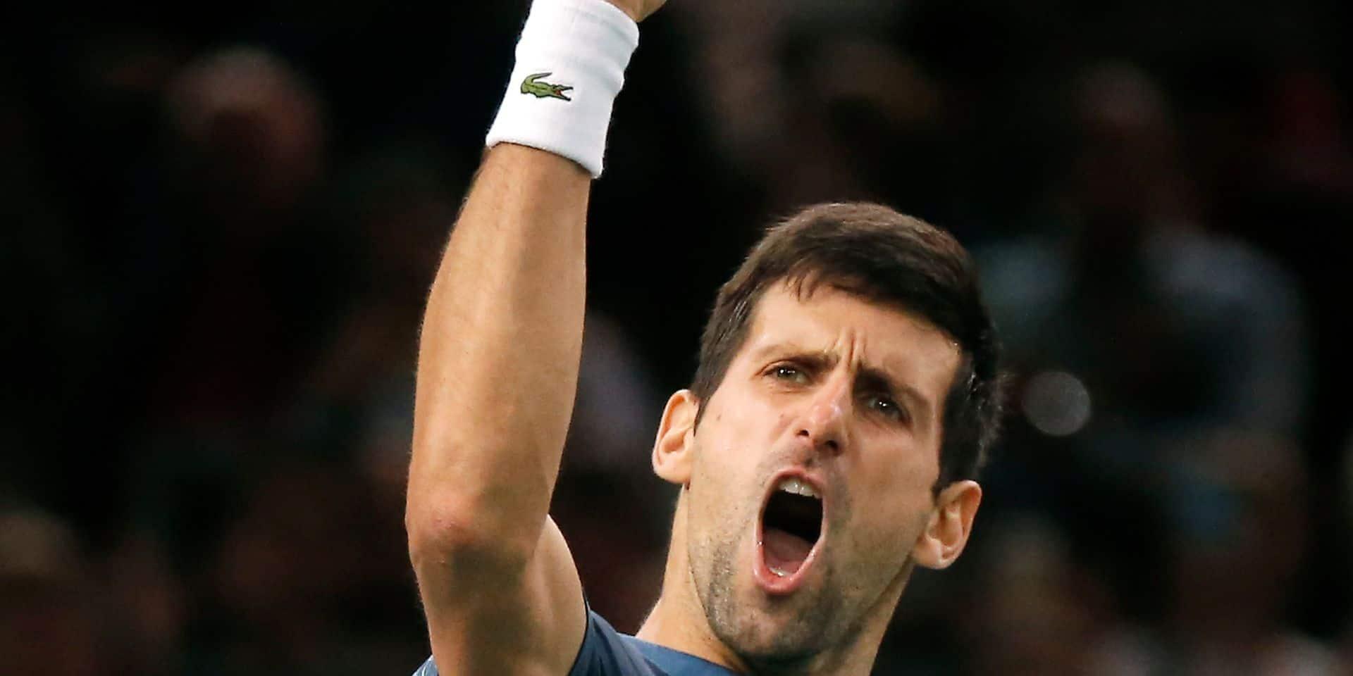 Le 47e Djokovic-Federer a tourné à l'avantage du Serbe