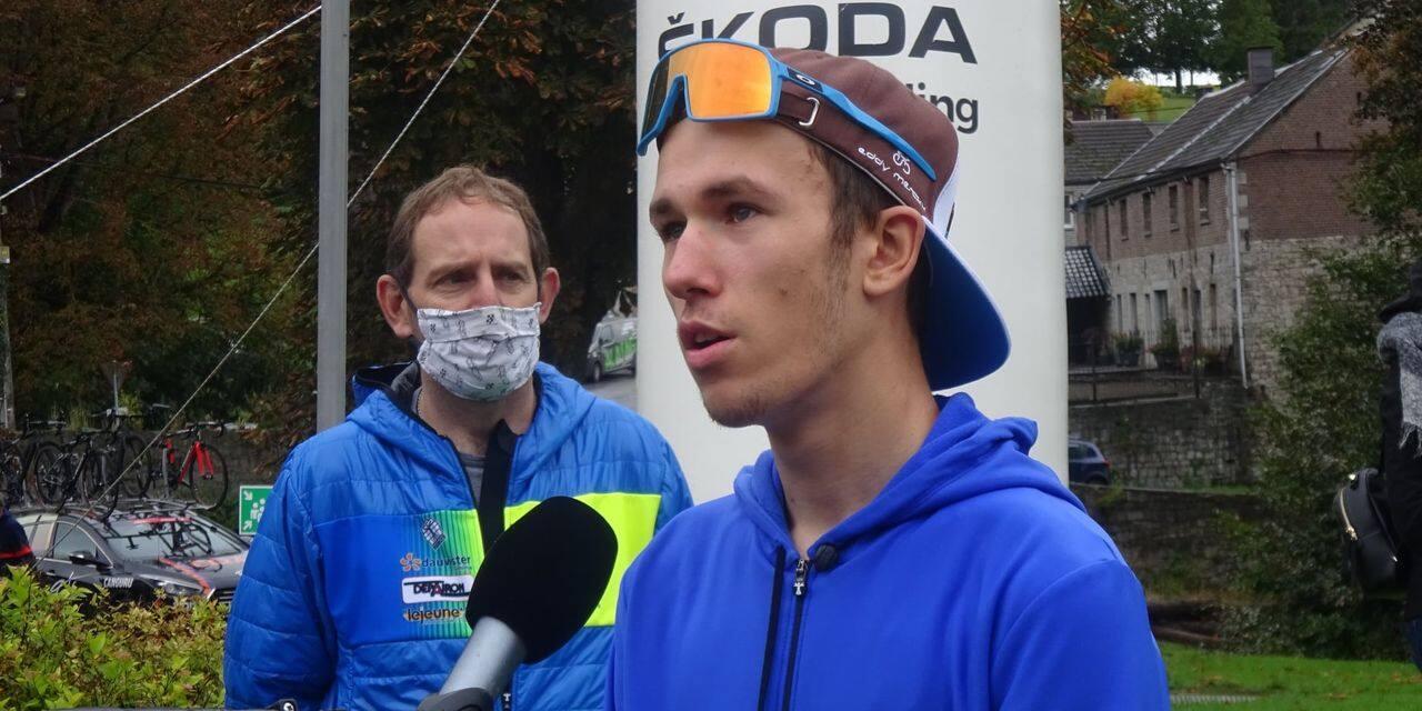 Noah Detalle dans le noyau Van Rysel-AG2R La Mondiale