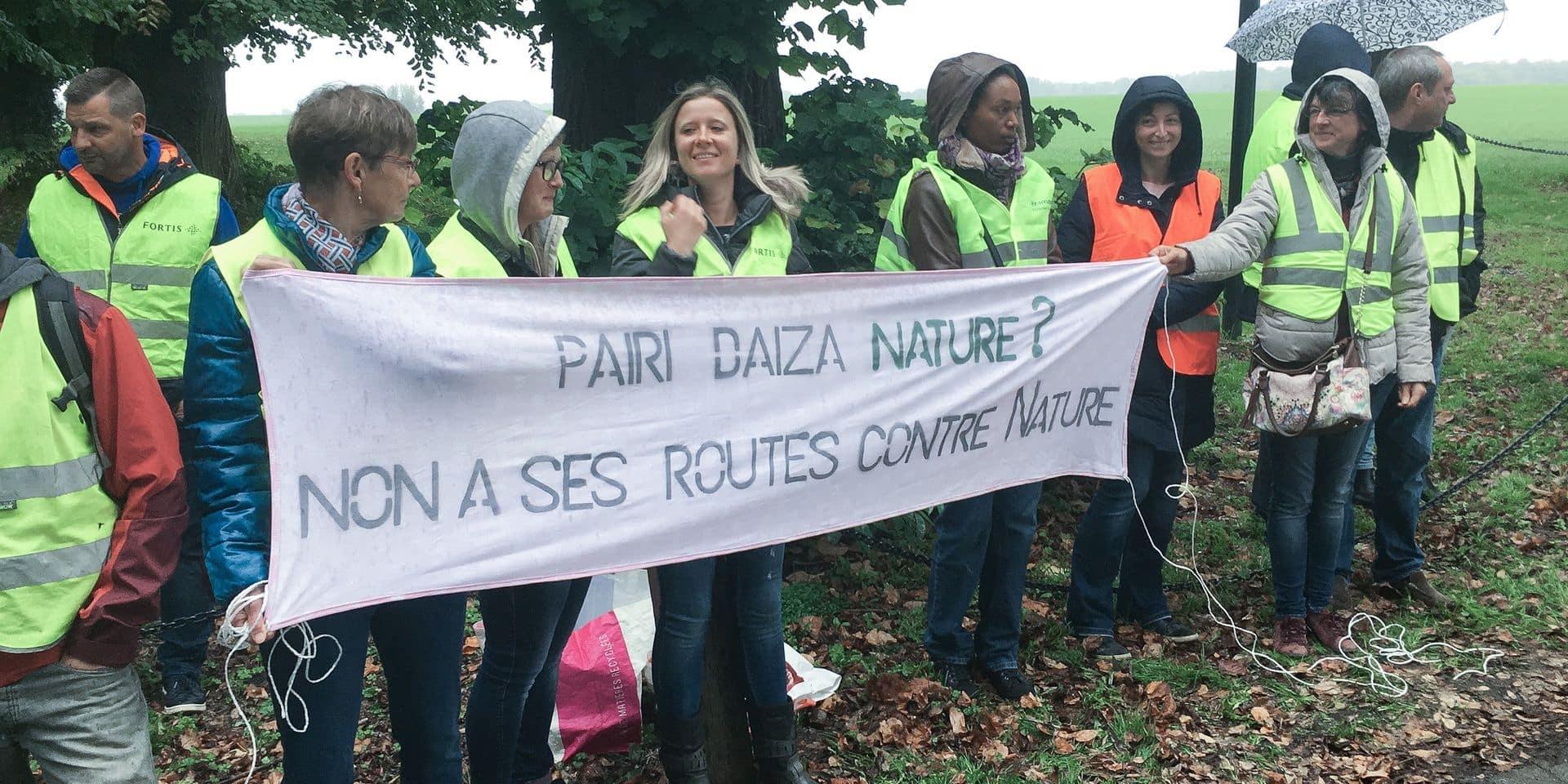 Le projet de route d'accès au parc Pairi Daiza contesté