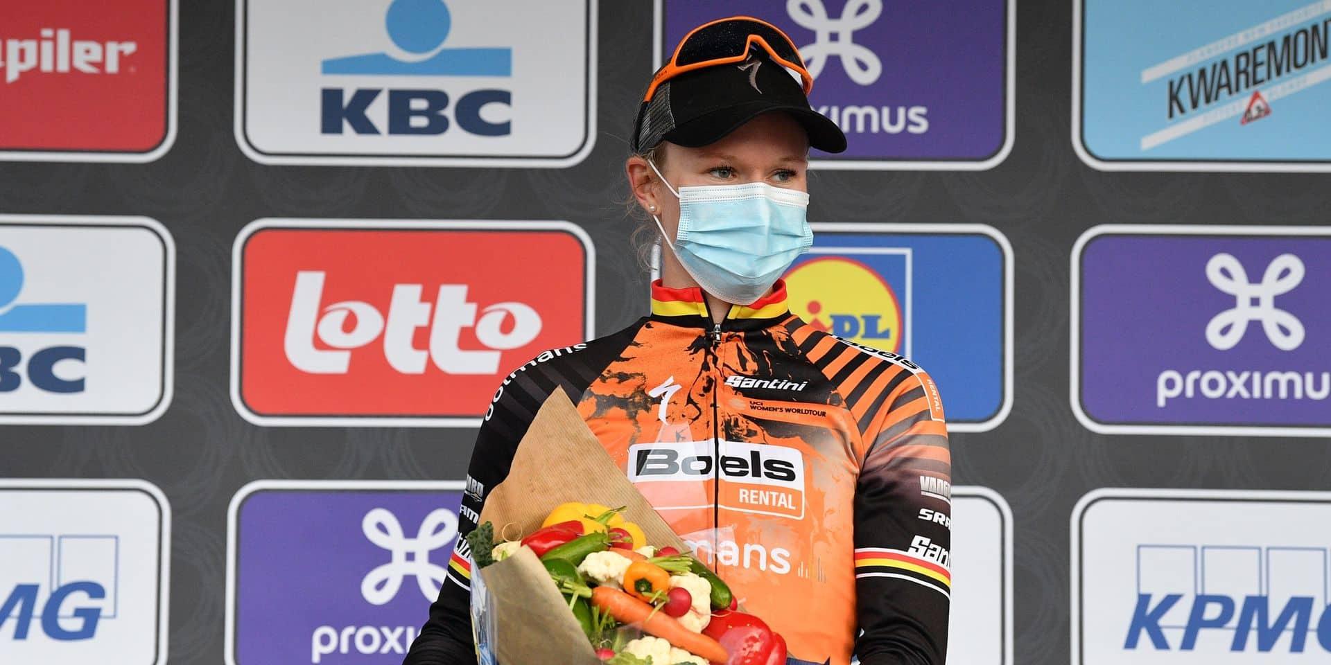 Gand-Wevelgem: victoire de Jolien D'hoore (Boels Dolmans) devant Lotte Kopecky (Lotto Soudal)