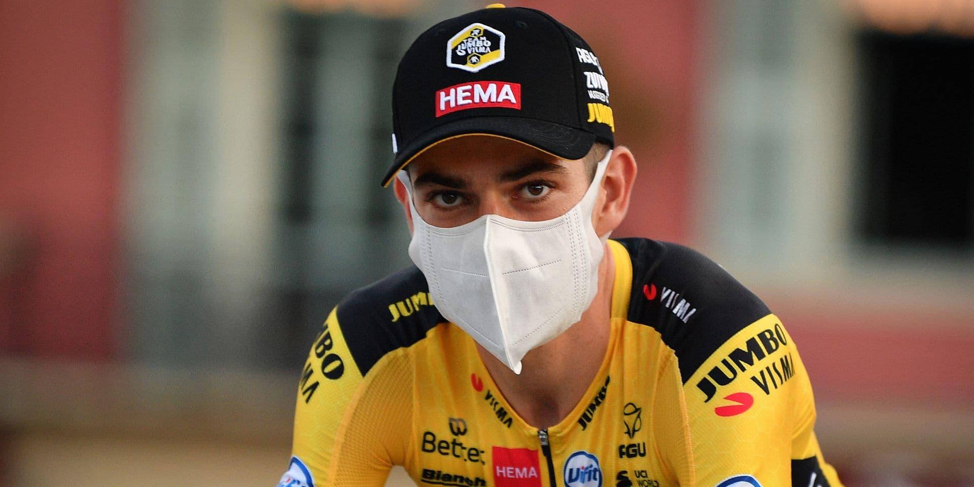 """Wout van Aert n'a pas participé au sprint : """"C'était fou"""""""