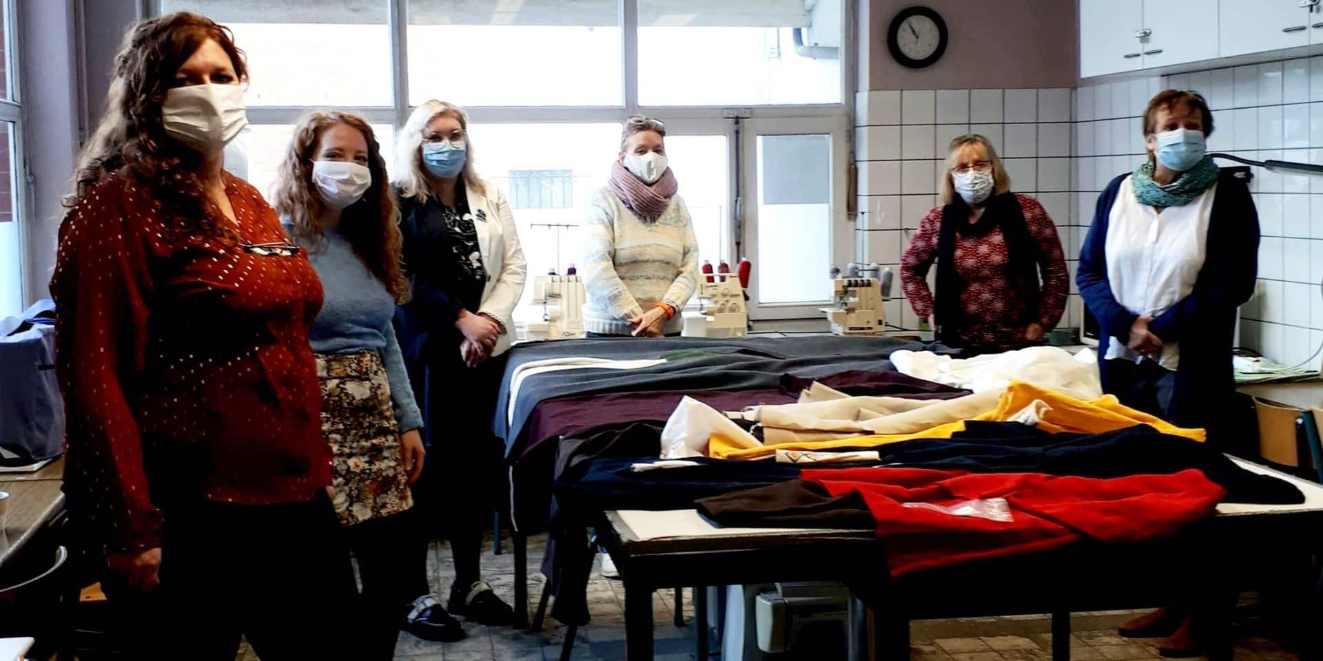 Soignies: les couturières ont créé des costumes pour le Musée royal de Mariemont