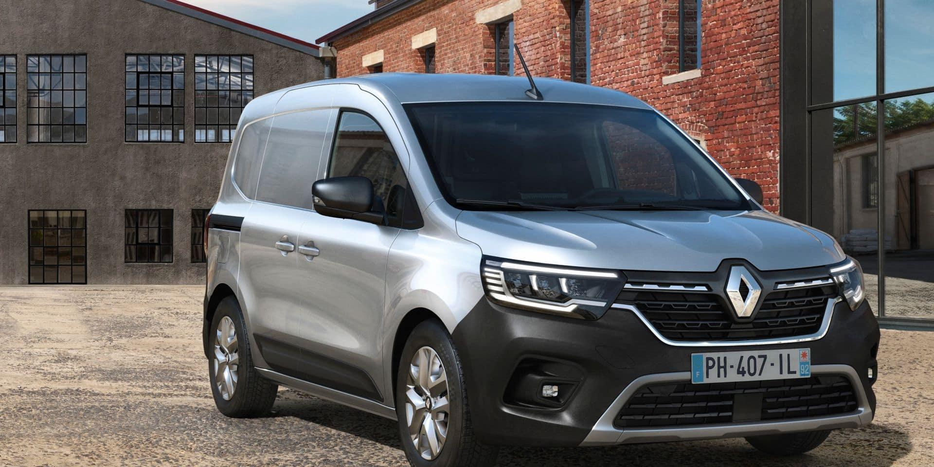 Plus d'autonomie pour le nouveau Renault Kangoo électrique