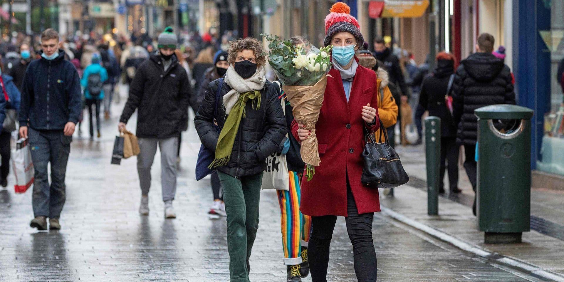 Coronavirus : L'Irlande fait face à une propagation rapide de la souche mutante britannique