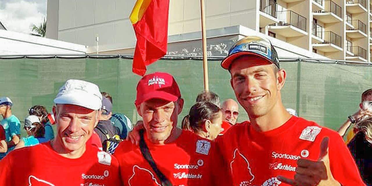 Detry, Lange et Vuegen, nos trois régionaux à l'Ironman d'Hawaï
