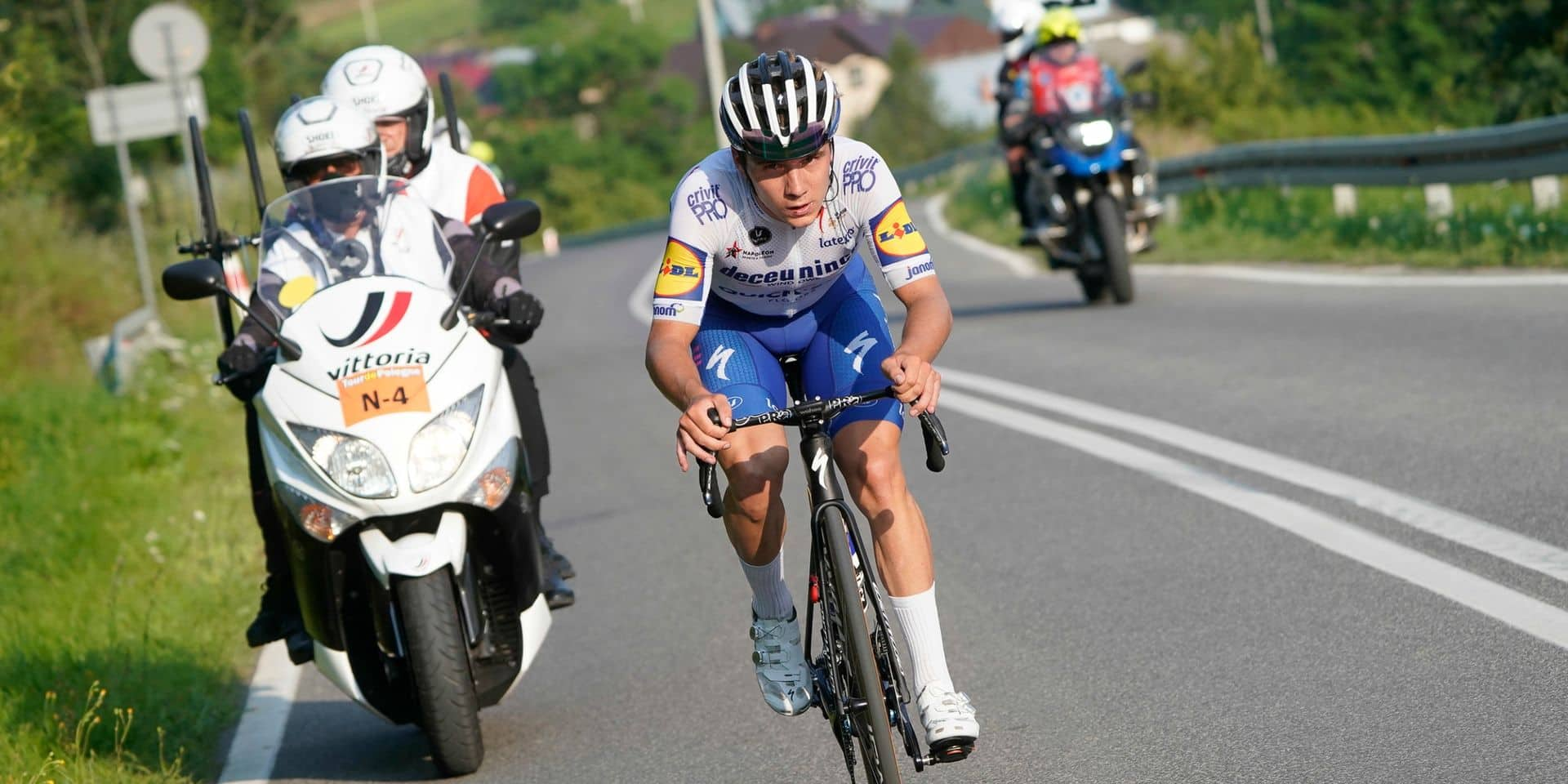 Une Vuelta taillée pour Evenepoel