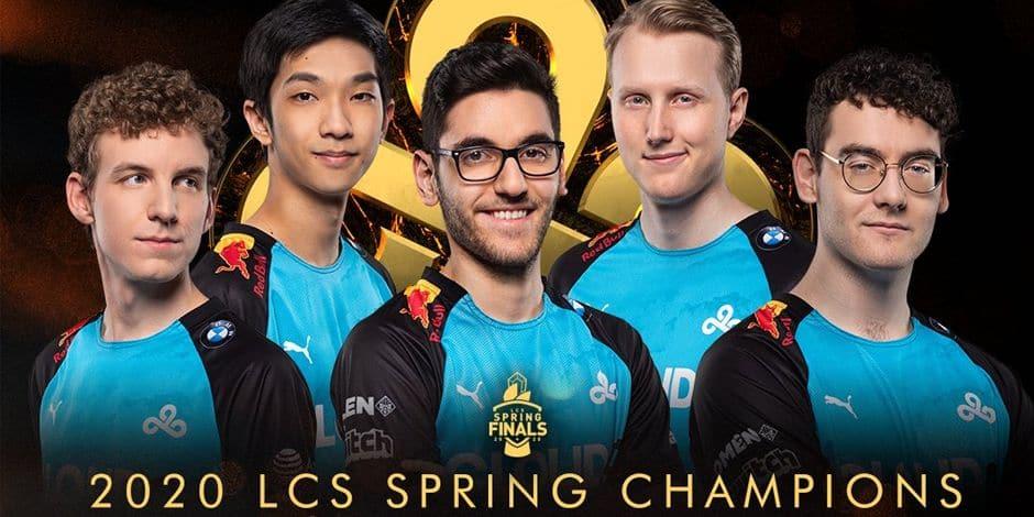 """Le Belge Yasin """"Nisqy"""" Dinçer sacré champion des League of Legends Championship Series avec Cloud9"""