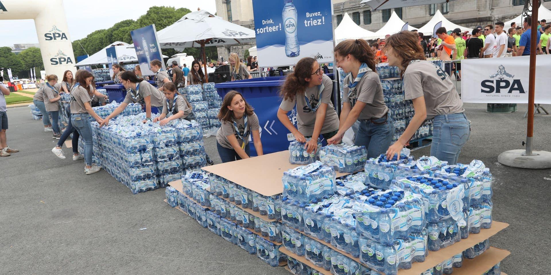 20 Km: 5,6 tonnes de déchets bleus recyclés