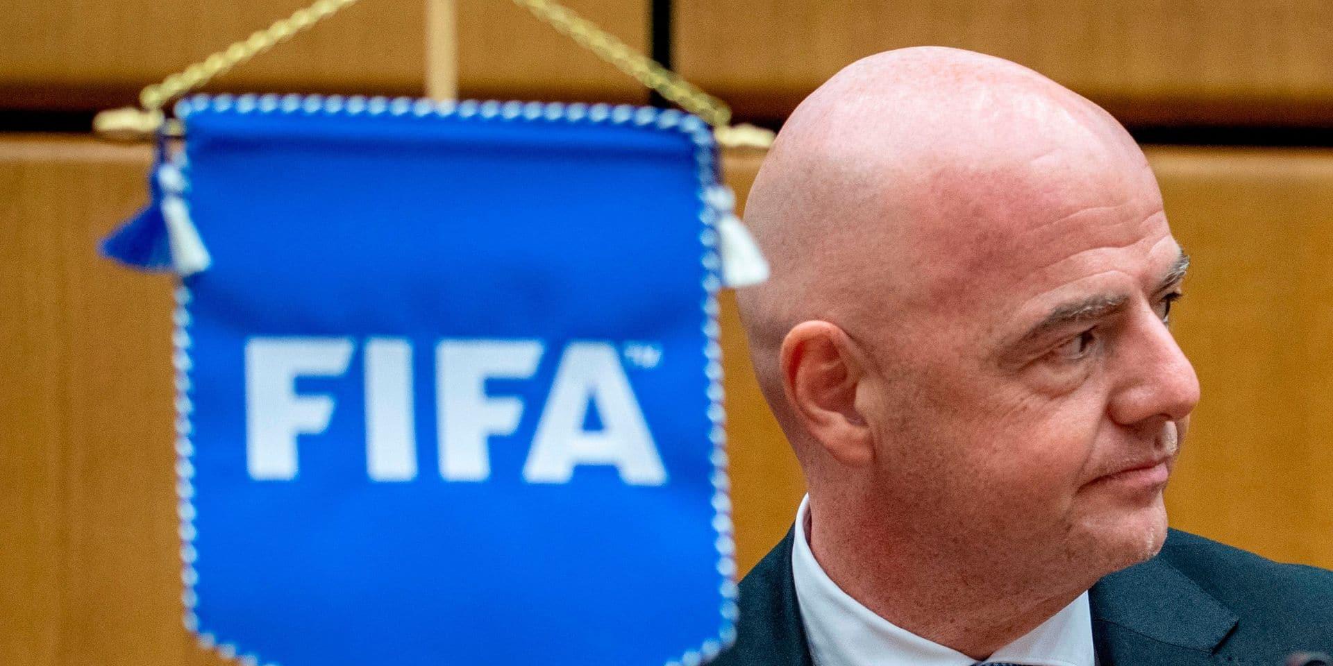 """Poursuivi en justice, Infantino vante l'intégrité de la """"nouvelle FIFA"""""""