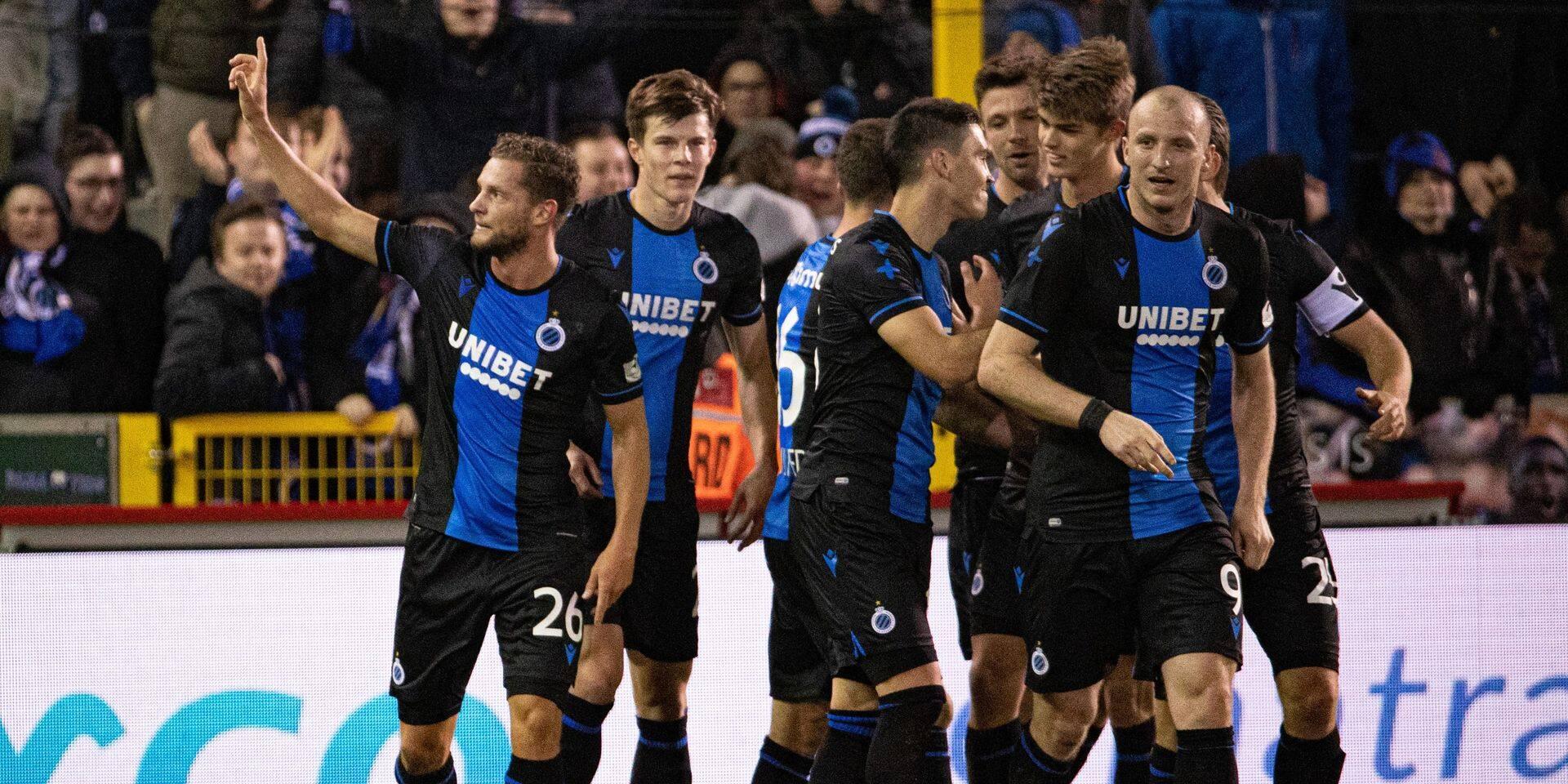 Le Club de Bruges s'impose de justesse face à Waasland-Beveren