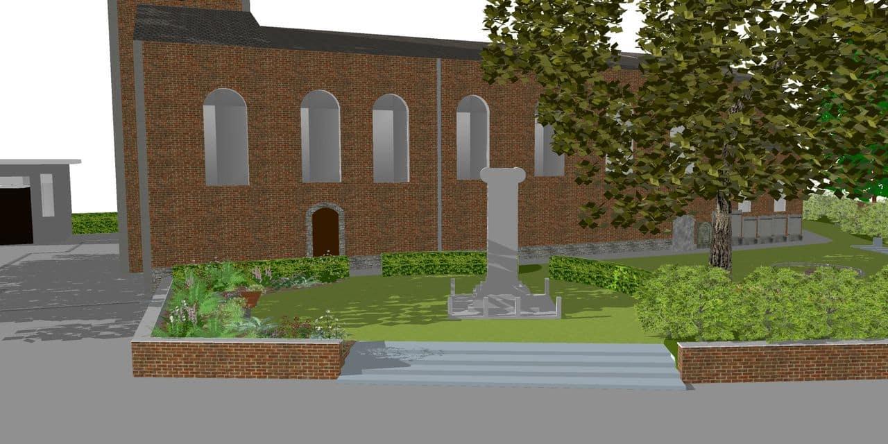 Le cimetière de Blicquy renaît de ses cendres
