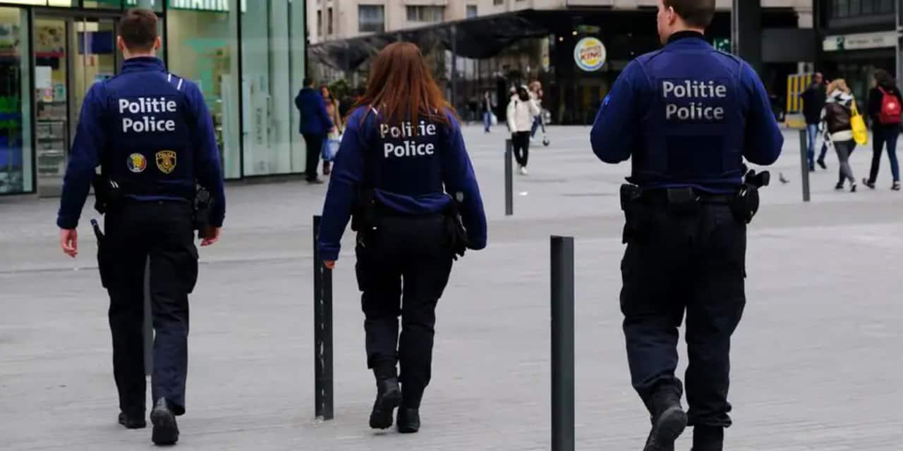 La police a fait lever le camp du Non Marchand devant le Cabinet du ministre bruxellois Sven Gatz
