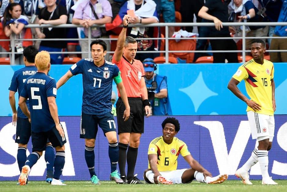 Colombie-Japon, les compos — CdM