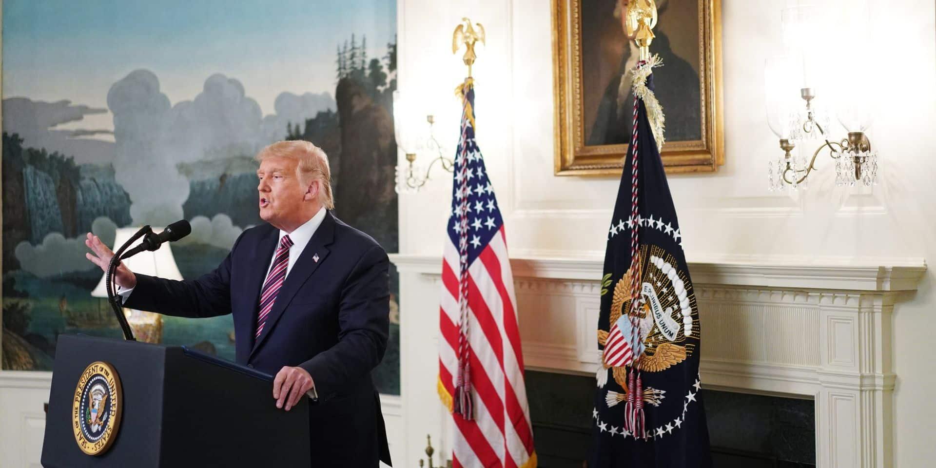 """Les déclarations de Trump dans le livre """"Rage"""" font polémique: """"Cela pourrait être la décision la plus coûteuse politiquement de sa présidence"""""""