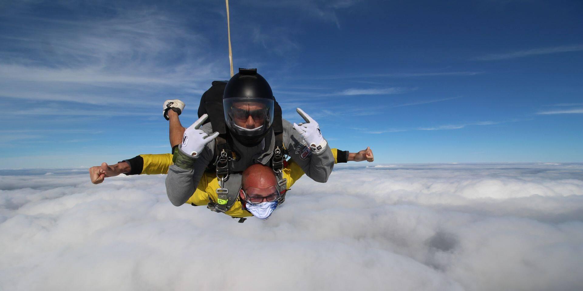 L'aérodrome de Saint-Ghislain va accueillir une activité de parachutisme