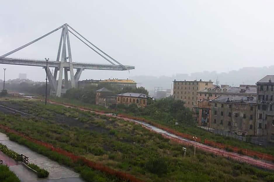 Italie. Au moins 20 morts dans l'écroulement d'un pont autoroutier à Gênes