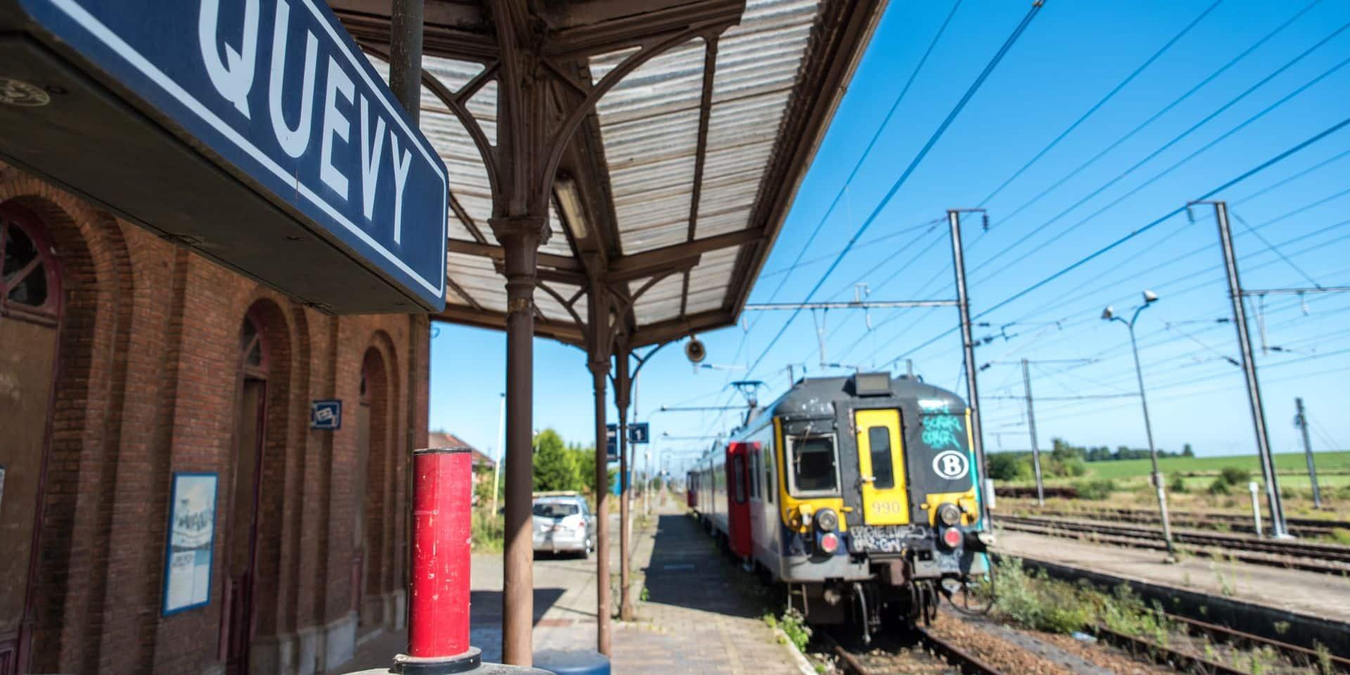 Ligne 96 Quévy-Mons: pas de travaux avant septembre...