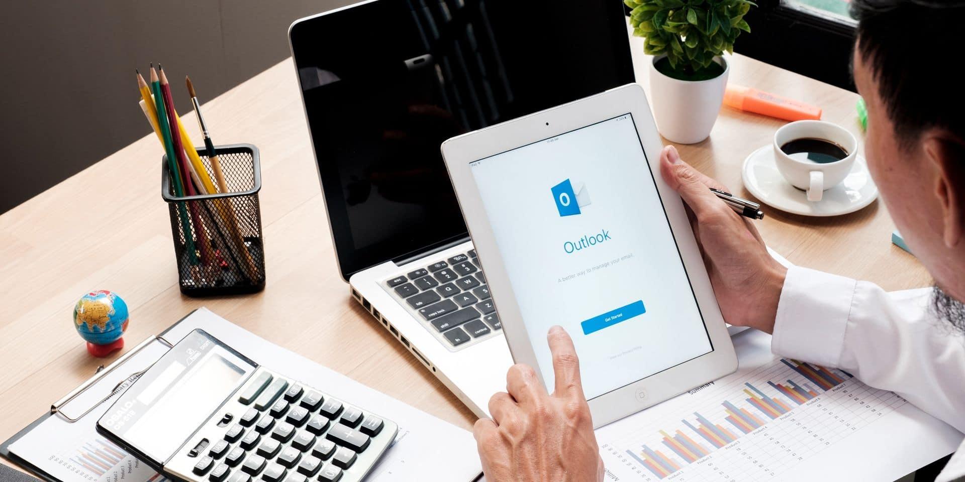 Une panne mondiale affecte la messagerie Outlook de Microsoft