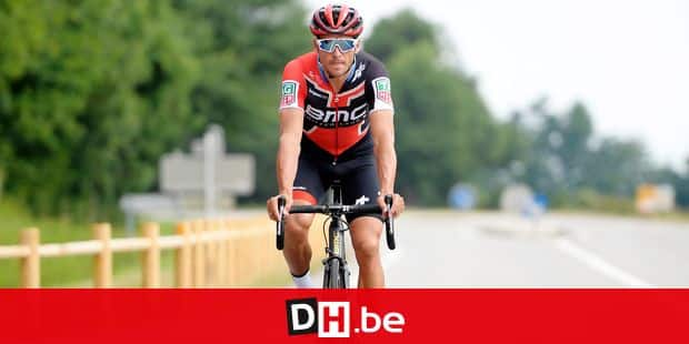 Belgian Greg Van Avermaet of BMC Racing Team pictured in action during a training session ahead of the 105th edition of the Tour de France cycling race, in La-Roche-sur-Yon, France, Thursday 05 July 2018. This year's Tour de France takes place from July 7th to July 29th. BELGA PHOTO YORICK JANSENS