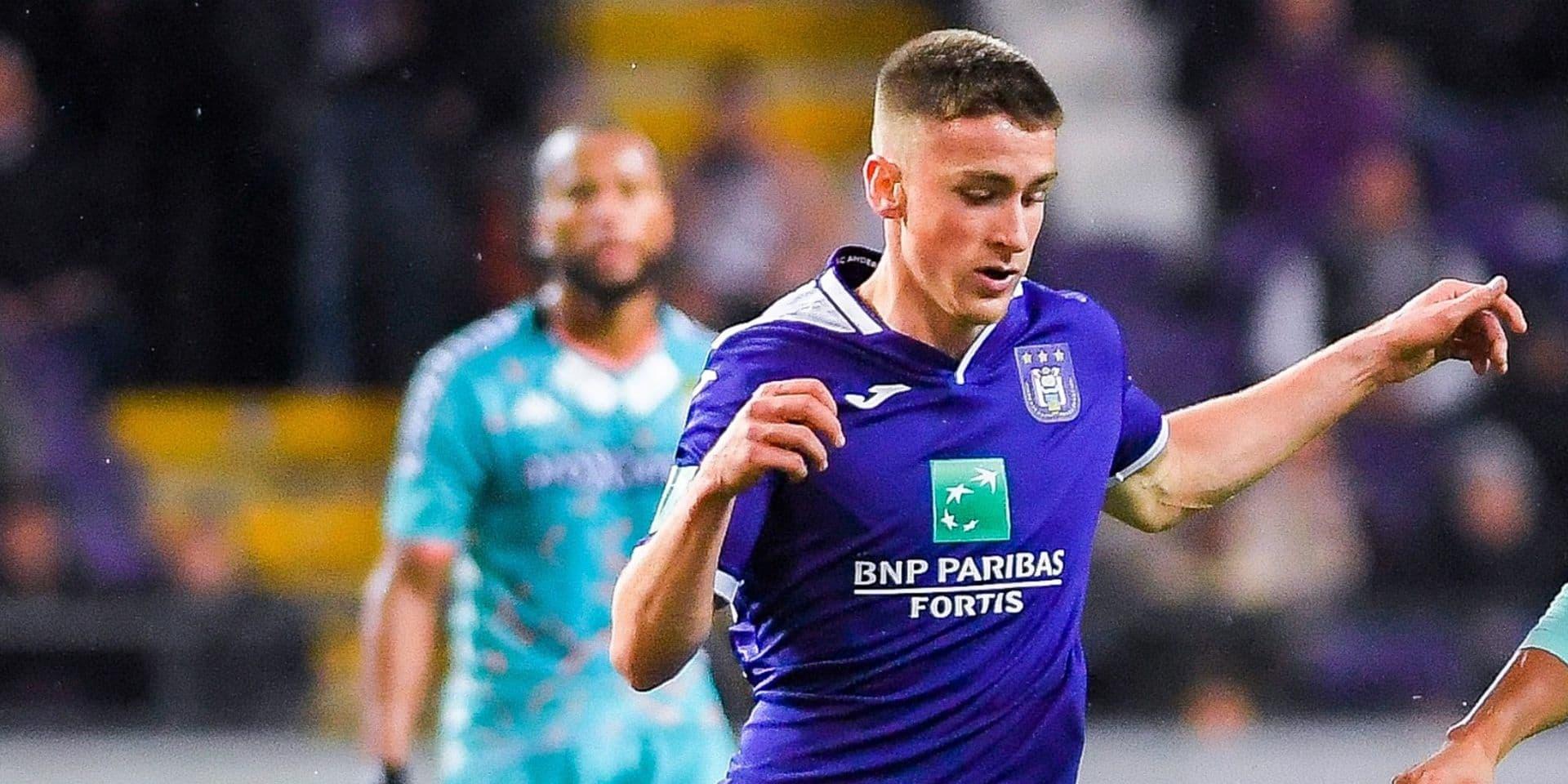 Impossible d'exiger plus des U21 d'Anderlecht