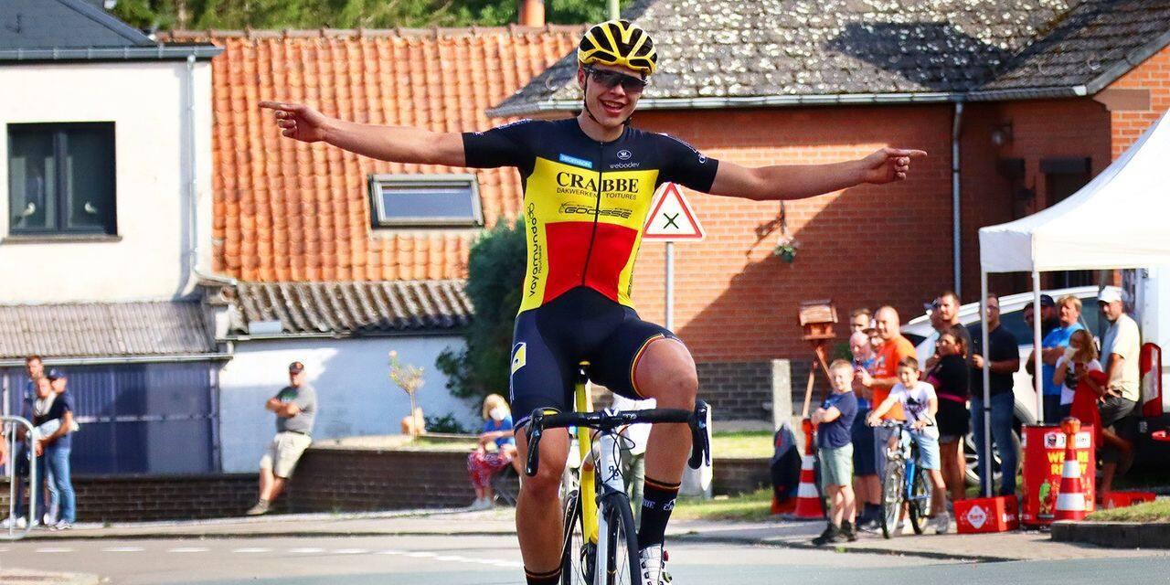 """Arnaud De Lie, l'autre grand talent du cyclisme wallon: """"Le parcours de Grignard fait envie"""""""