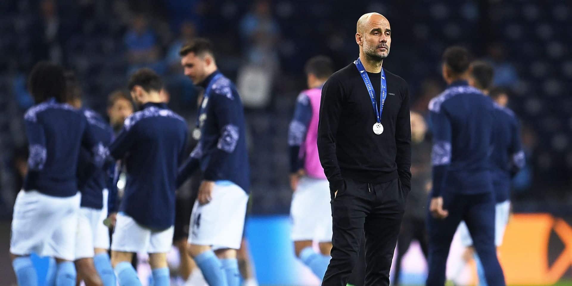 """Pep Guardiola après la finale perdue: """"On va revenir"""""""
