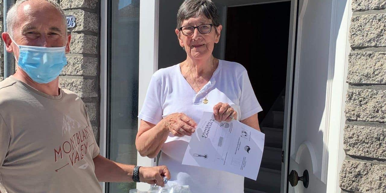 Dison : 1522 packs d'eau distribués aux seniors de la commune