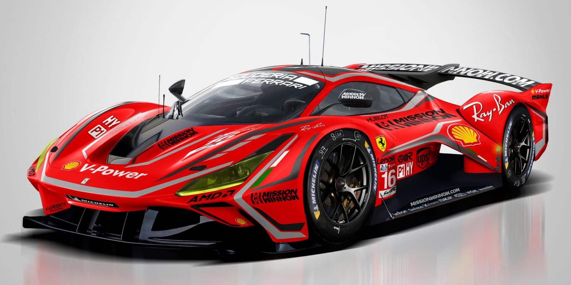 Ferrari débarque en Hypercar dès 2023 !