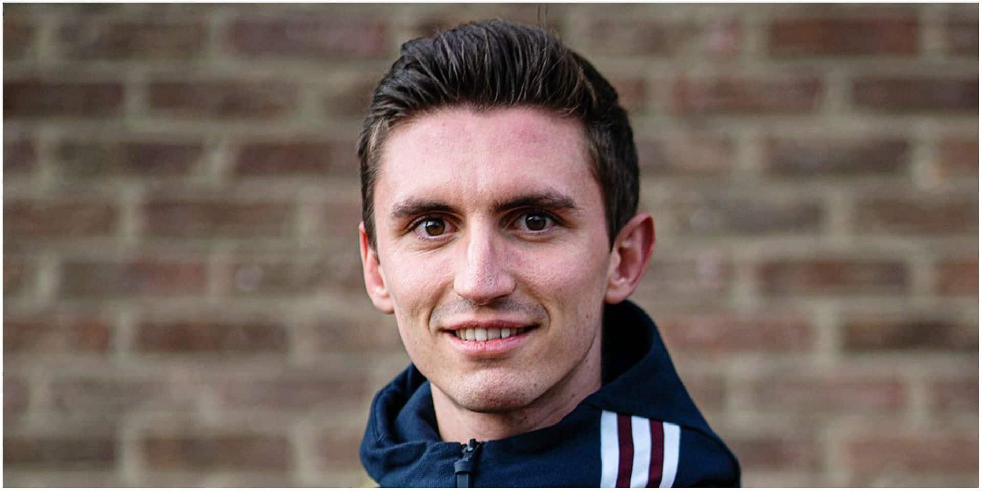 """Dorian Boulvin, 22 ans, espère participer aux championnats d'Europe d'athlétisme à Paris: """"Je prends exemple sur Koen Naert"""""""