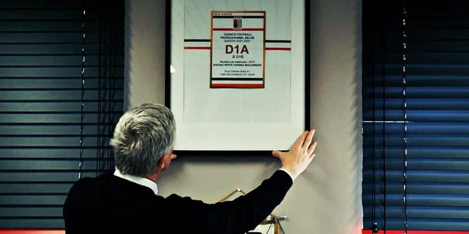 Le RWDM obtient la licence pour la D1B... et la D1A